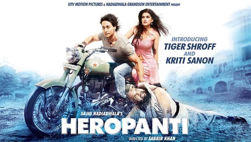 Four years of Heropanti: Tiger Shroff and Kriti Sanon express gratitude on Twitter