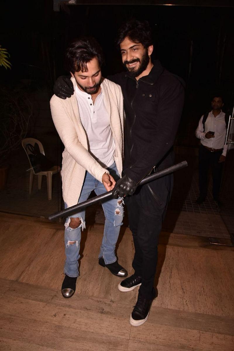Varun Dhawan attends 'Deadpool 2' screening with his alleged girlfriend Natasha Dalal; check out pics