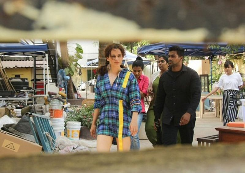On The Sets: Kangana Ranaut flaunts her QUIRKY AVATARS on the first day shoot of 'Mental Hai Kya'