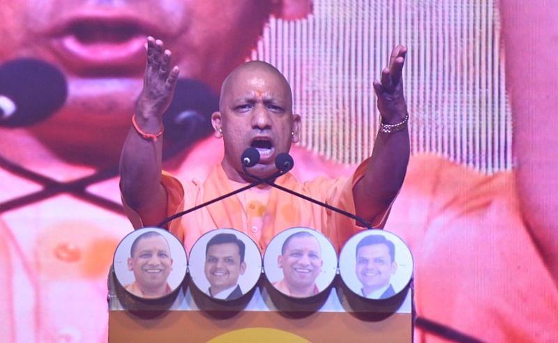 Palghar bypoll: Shiv Sena has no right to take Shivaji's name as they act like Afzal Khan, says Yogi Adityanath