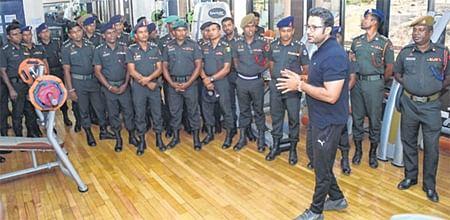 Sri Lanka army officers visit IIM Indore