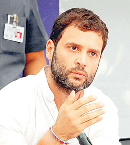 Rahul sounds poll bugle with farmers as sounding board