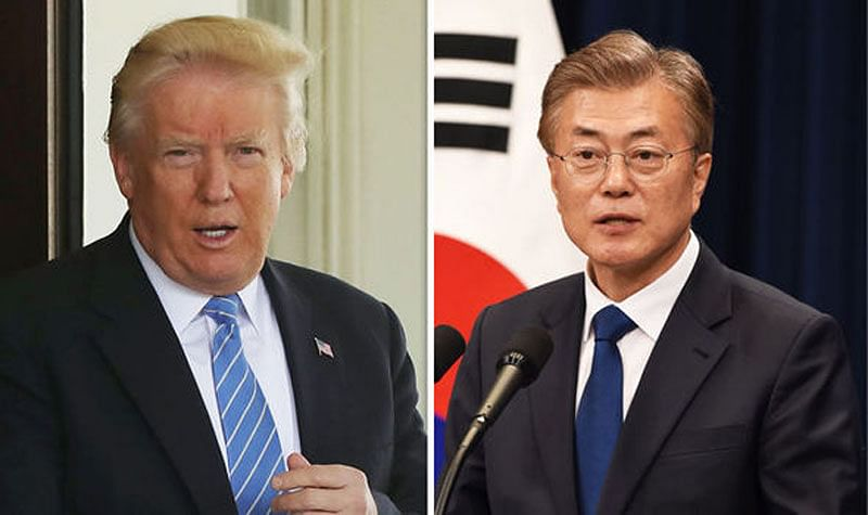 A successful summit between US and North Korea will be great gift for Donald Trump's birthday: Moon Jae-In