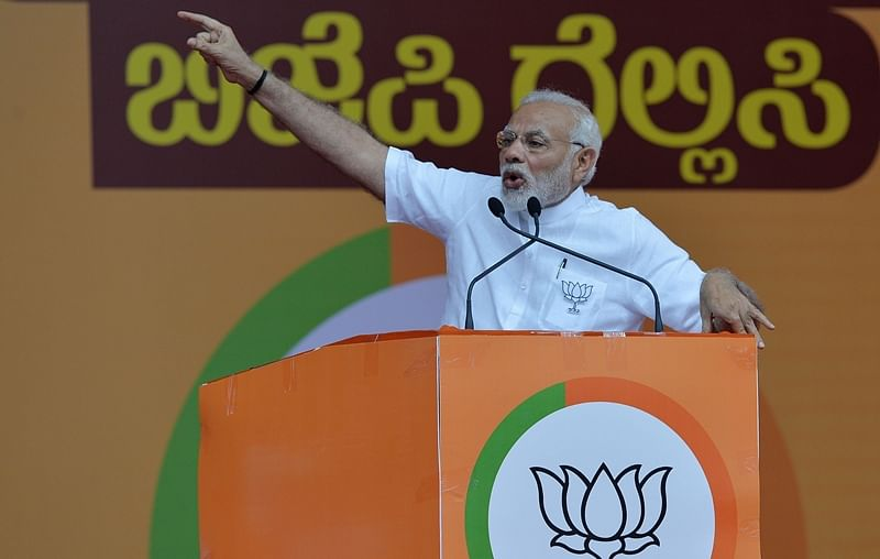 Congress pursuing divide and rule policy: Prime Minister NarendraModi