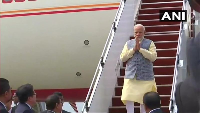 Narendra Modi arrives in Malaysia to meet newly-elected PM Mahathir Mohammad