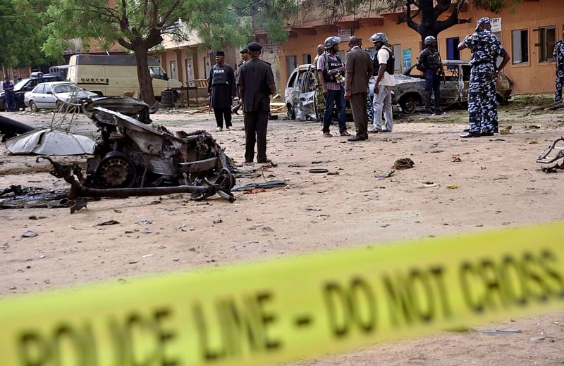 Nigeria blasts: More than 60 people in twin suicide bombing