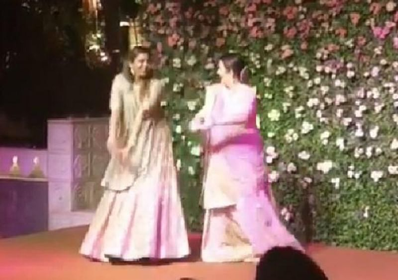Watch: Mom Nita Ambani dances to Sridevi's song on daughter Isha's engagement party