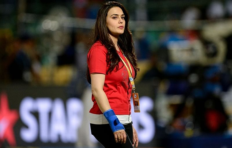 Watch: Preity Zinta expresses happiness upon Mumbai Indians' exit from IPL 2018