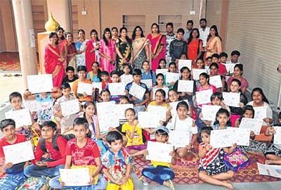Painting, rangoli competition organised byVidyarthi Planners