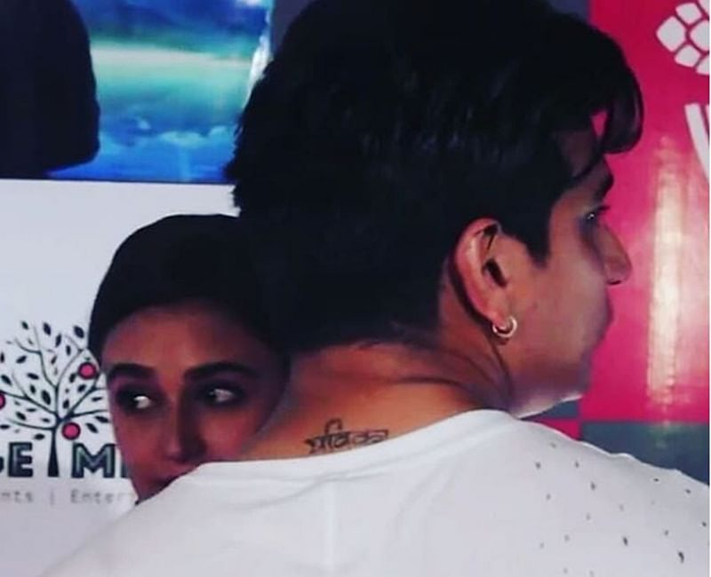 Ink Wink! Prince Narula's tattoo of Yuvika Chaudhary proves he's madly in love