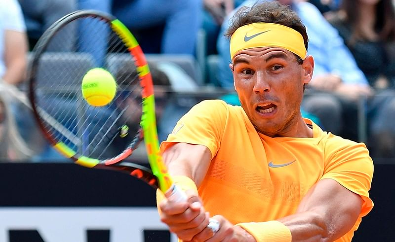 Nadal crushes Djokovic, seeks eighth Italian Open title in final