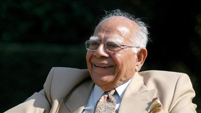 Former Union Law Minister and Iconic lawyer Ram Jethmalani