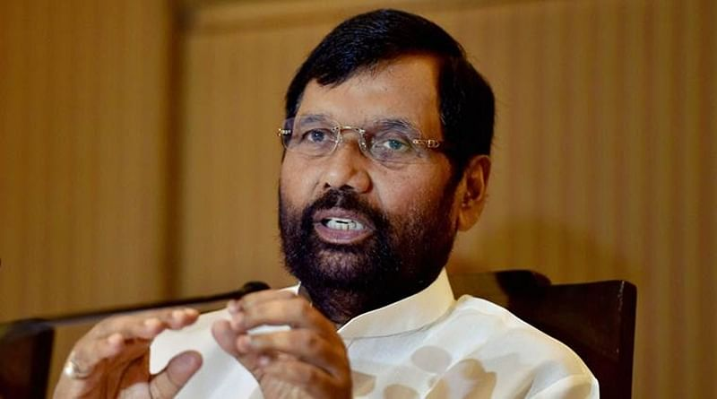 No question of bringing in ordinance on Ram temple, says Ram Vilas Paswan