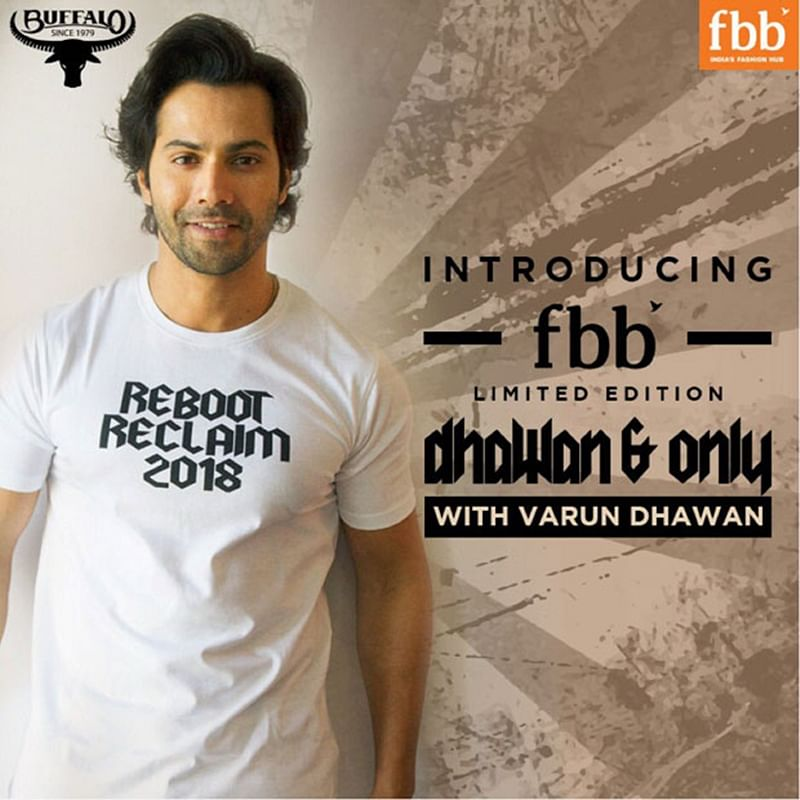 WOW! Varun Dhawan kicks off his own CLOTHING line and here are the details