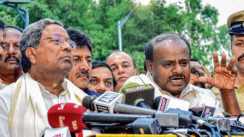 War of words erupts between Siddaramaiah, HD Kumaraswamy