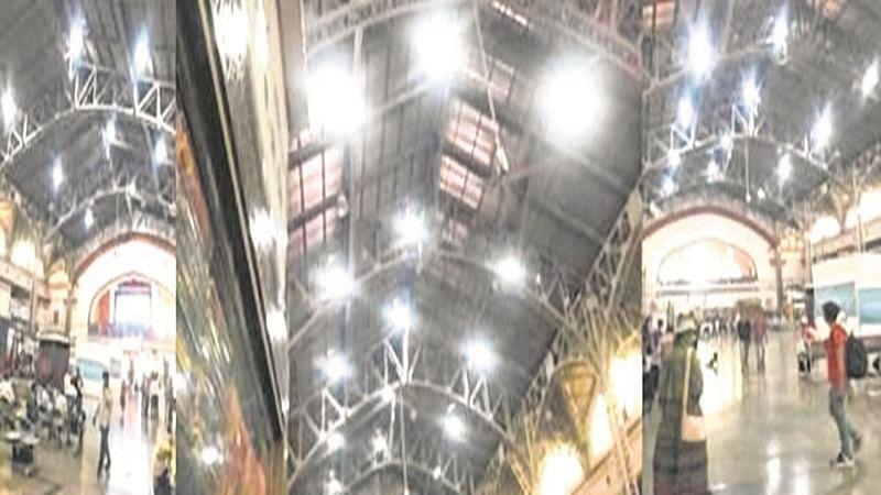 Natural sunlight tubes installed at Mumbai Central
