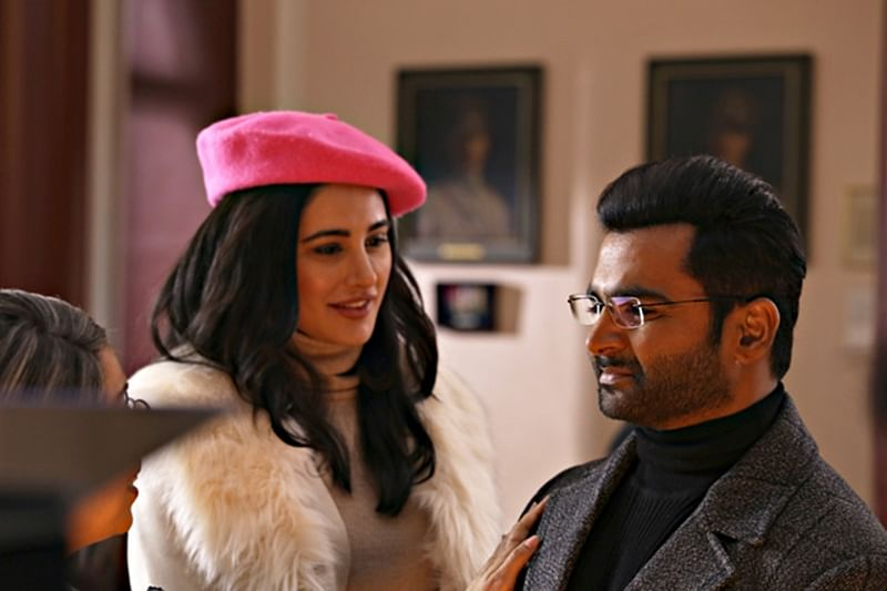 Now here, Sachiin Joshi wraps up shoot with Nargis Fakhri for his upcoming film 'Amaavas'
