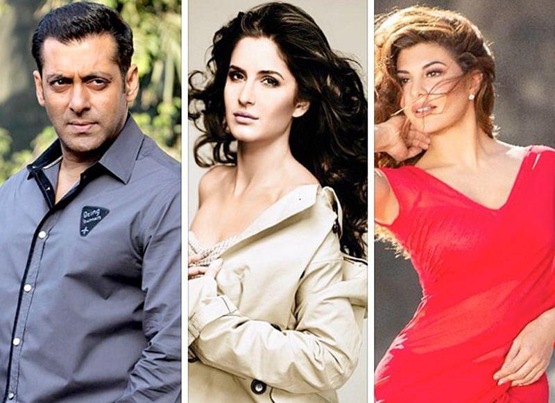 Salman Khan plays 'Godfather' to Katrina Kaif & Jacqueline Fernandez