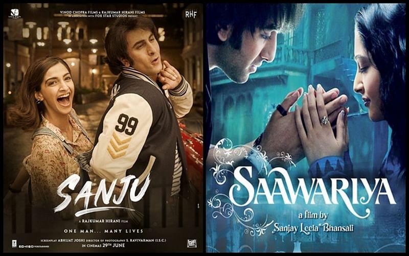 'Sanju' poster: Sonam Kapoor and Ranbir Kapoor reunite 11 years after 'Saawariya'