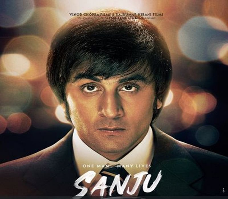 Ranbir Kapoor shares a superb similarity with Sanjay Dutt in latest poster of 'Sanju'; have a look