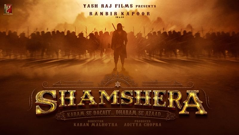 FIRST LOOK OUT: Ranbir Kapoor in and as 'Shamshera' looks like a warrior