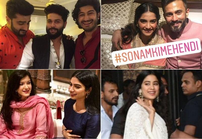 Sonam Kapoor-Anand Ahuja Mehendi Ceremony