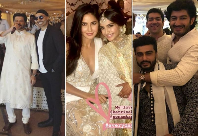 Sonam Kapoor-Anand Ahuja Wedding: Cool bride Sonam shakes a leg with Anand at her Mehendi/Sangeet; dances with other celebs; watch now