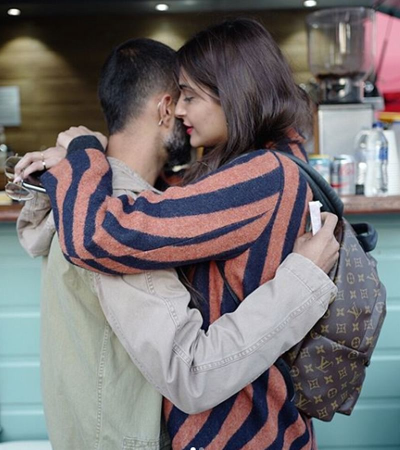 Sonam Kapoor and Anand Ahuja's post-wedding pictures prove that 'Love Is In The Air'; check out