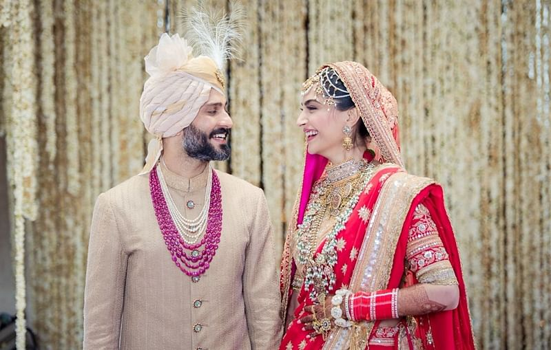 Sonam Kapoor-Anand Ahuja wedding reception updates: Here are the pictures and videos