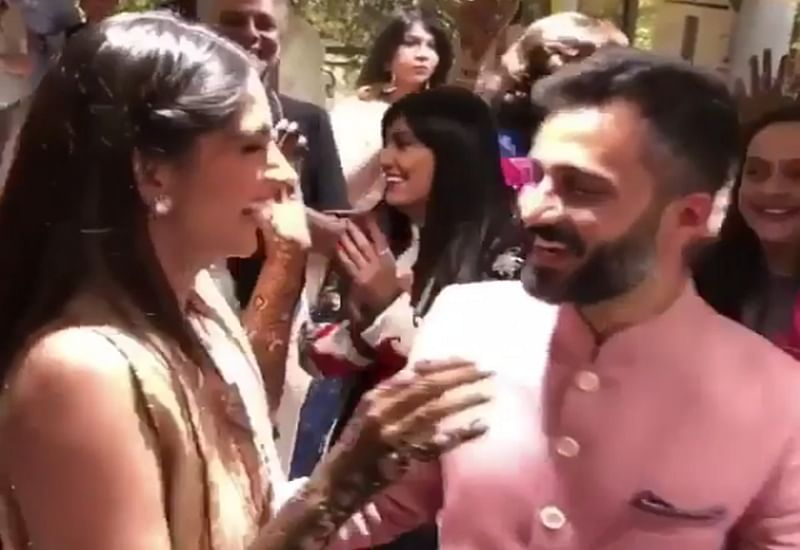 Sonam Kapoor-Anand Ahuja Wedding: Check out entertaining dance videos of Sonam and Anand's mehendi ceremony