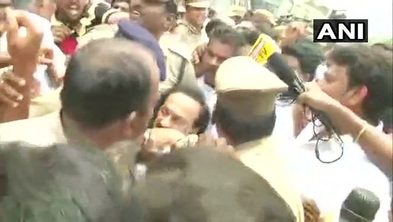 Anti-Sterlite protest: DMK's Stalin detained from outside Tamil Nadu secretariat over protests in Thoothukudi