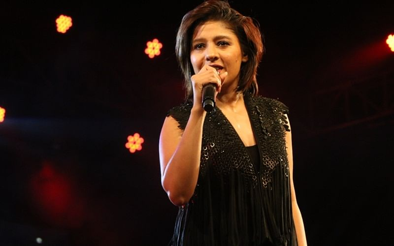 This picture of Sunidhi Chauhan's five-month-old baby is adorable