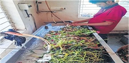 Indore: Using 'garbage', RRCAT cooks breakfast for 200 people daily