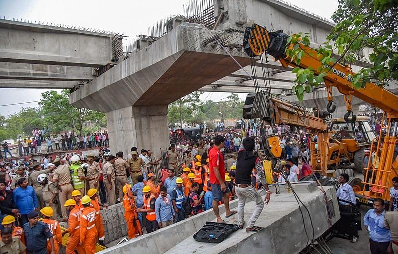 FPJ Fact Check: Did a metro pillar collapse in Thane's Balkum?