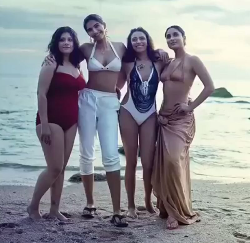 'Veere Di Wedding': Kareena Kapoor Khan, Sonam Kapoor and their 'Veeres' turn bikini babes in this latest still; check out
