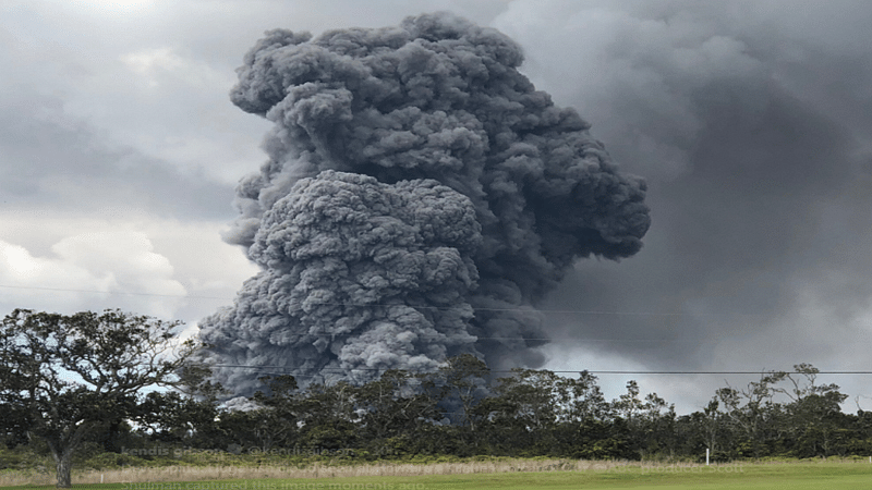 US: Red alert raised after ash bursts from Hawaii's Kilauea volcano