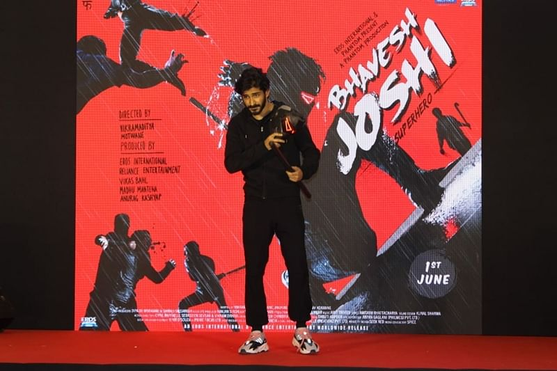 Harshvardhan Kapoor turns Bhavesh Joshi Superhero, performs Live action in a mall