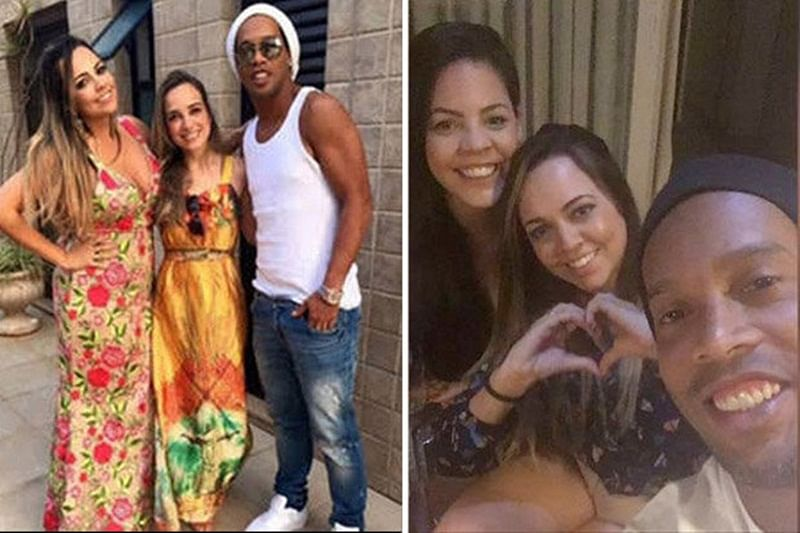 World Cup legend Ronaldinho to marry two women at the same time