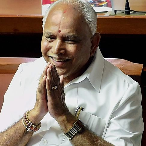 'Resigning on my own so that a younger CM can take office...': BS Yediyurappa breaks down while announcing exit
