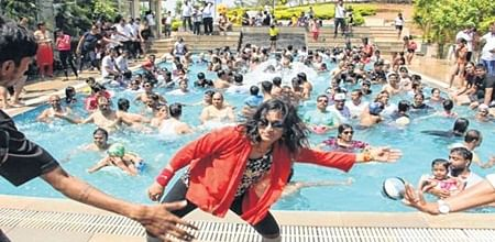 Indore: Aqua Zumba is new fitness mantra of Indoreans