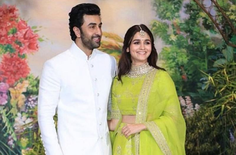 Alia Bhatt and Ranbir Kapoor's bonding at Sonam-Anand reception sets tongues wagging on social media