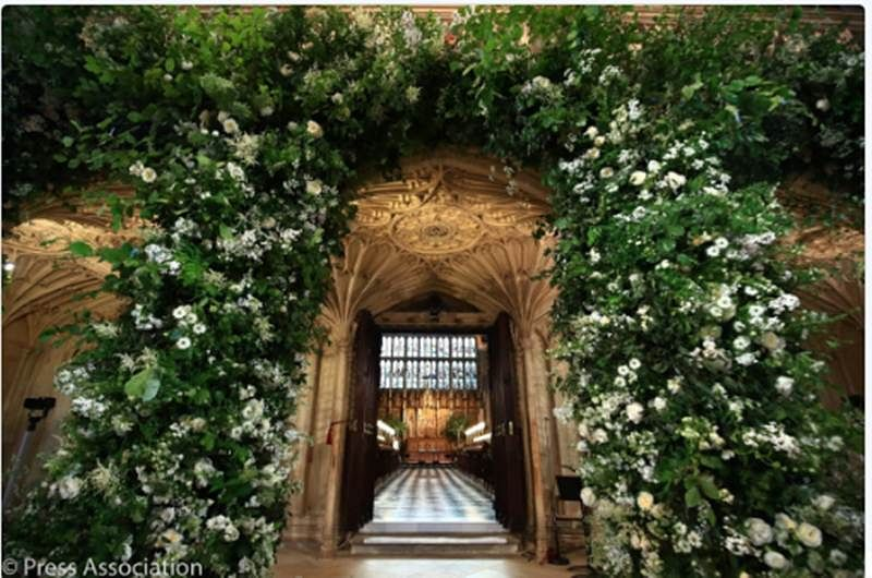 Here's the first look of Chapel of the Royal Wedding