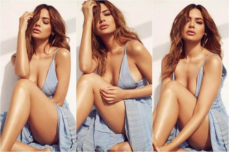 Sultry Esha Gupta gets trolled for showing ample assets on social media, she gives it back