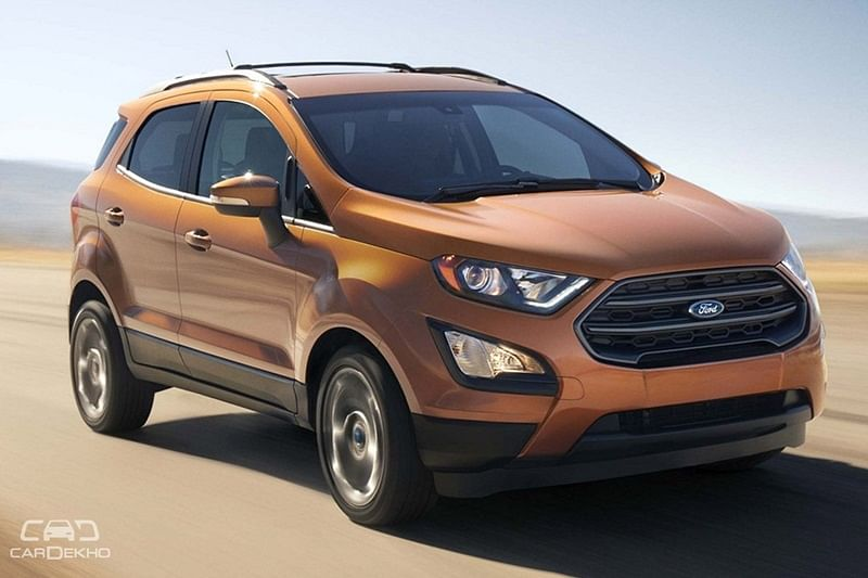 Ford EcoSport Titanium S With Sunroof To Launch on May 14