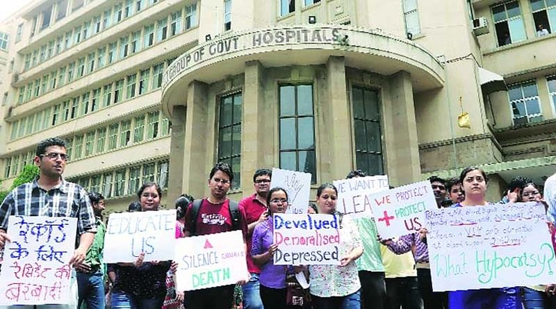Mumbai: If demands are not met, JJ hospital resident doctors threaten to continue strike
