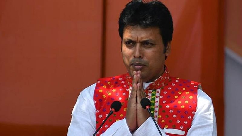 Tripura CM Biplab Kumar Deb visits house of custodial death victim, announces solatium Rs 5 lakh
