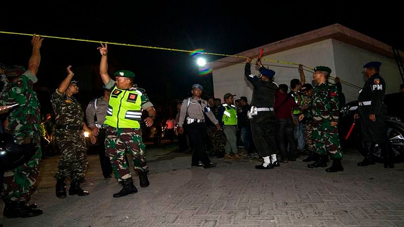 Explosion at Indonesian police headquarters leaves one casualty: official