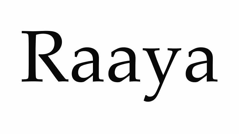 Short film 'Raaya' to represent India at Cannes