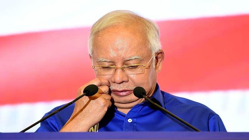 Malaysian PM Najib Razak accepts general elections result