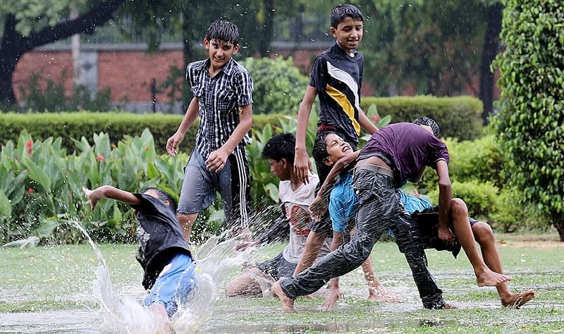 With monsoon round the corner, unleash the child in you